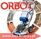 HOS ORBOT SprayBORG najbardziej kompaktowe i wszechstronne urządzenie przeznaczone do czyszczenia posadzek. www.hos.bravos.pl