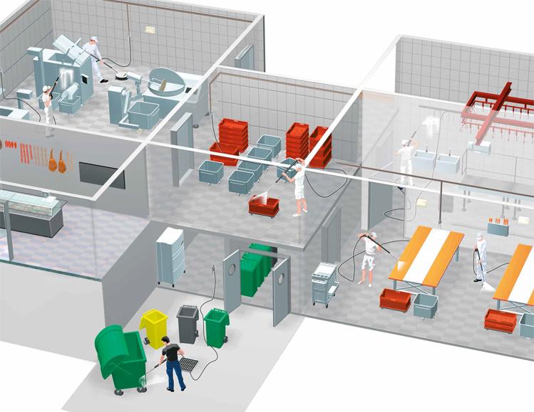 Sprzęt do przemysłu chemicznego dla branży obróbki metali